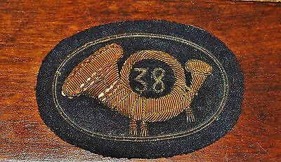 Civil War Extremely Rare 38Th U.s. Colored Infantry Regiment Dress Hat Pin