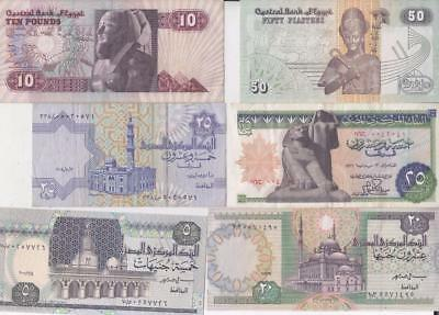 12 Egypt & Saudi Arabia Banknotes, Islamic Middle East  E39