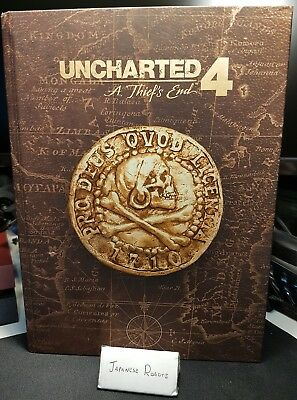 Uncharted 4: A Thief's End PS4 Collector's Edition Strategy Guide Hardcover
