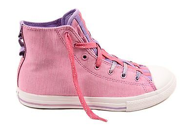 e9256b48fed12a CONVERSE JUNIOR CTAS Loopholes 654238C Sneakers Icy Pink UK 5