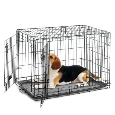 91 cm Dog Crate Helps Cut House Training Time