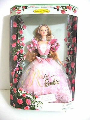 A Garden of  Flowers Series Rose Barbie Doll 1999