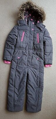 NEXT Young Girls All in One Snow Suit, Age7 - 8 years