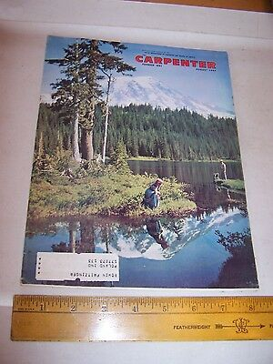 1964 UNITED BROTHERHOOD OF CARPENTERS & JOINERS OF AMERICA Magazine August