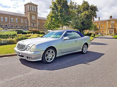 Mercedes Clk 230 Kompressor Convertible Automatic 2000 W Reg