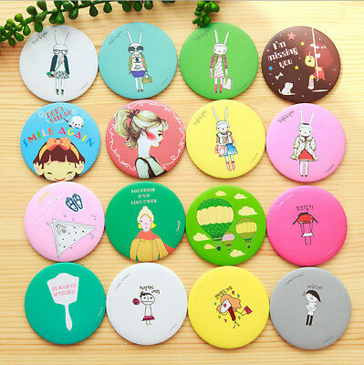 Cartoon Cute Portable Mirror Small Cosmetic mirror Creative Gifts for Friend