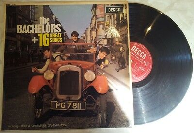 THE BACHELORS +16 GREAT SONGS Original UK DECCA LK 4614 MONO
