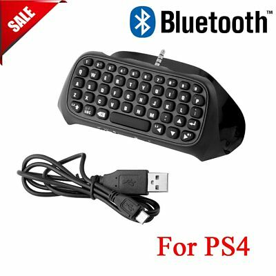 For Sony PS4 PlayStation 4 Accessory Controller Bluetooth Wireless Keyboard B2