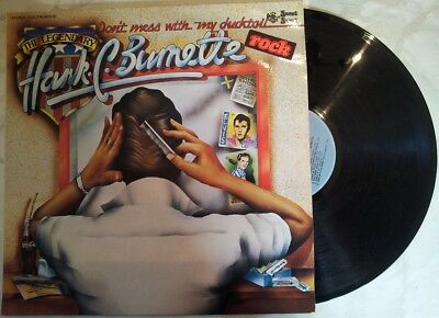 "HANK C BURNETTE "" Spinning rock boogie"" FRENCH LP Pressage 1976 Vogue  404"