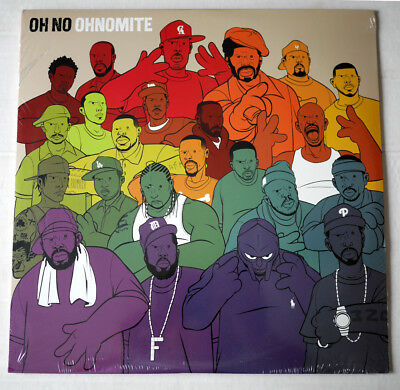Sealed 2 LP - Oh No ‎- Ohnomite -  Five Day Weekend - HIP HOP - Neu & OVP