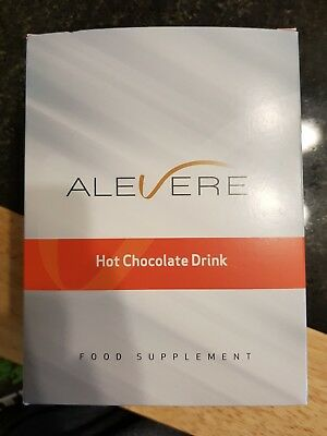 Alevere Hot Chocolate Sachets x7 FULL BOX!!