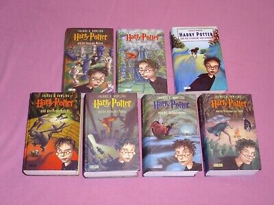 Harry Potter 1-7 _ Gebundene Ausgaben _ Harry Potter 1 2 3 4 5 6 7