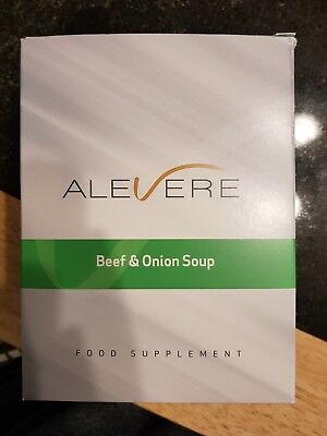 Alevere Beef & Onion Soup Sachets x7 FULL BOX!!