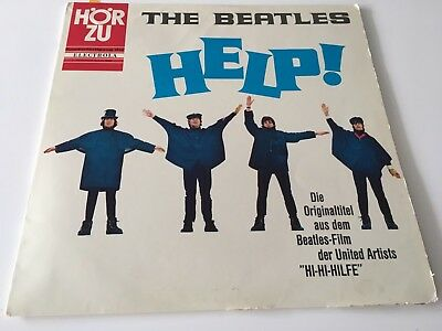 The Beatles Help! Album vinyl