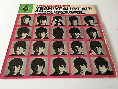 The Beatles Yeah Yeah Yeah A Hard Day's Night vinyl