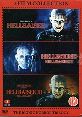 Hellraiser Trilogy Boxset  (UK IMPORT)  DVD NEW