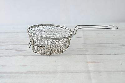 Vintage Primitive Wire Strainer Basket Wire Handle Wire Colander