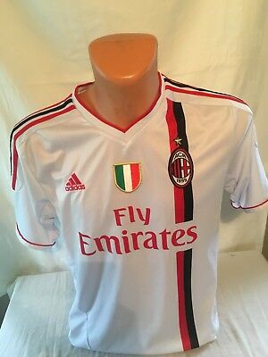 Maillot Foot Ancien Ac Milan Numéro 9 Inzaghi Taille M