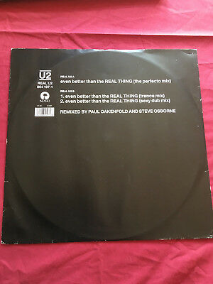 U2 Even Better Than The Real Thing (The Perfecto Mix) REALU2 Island Records