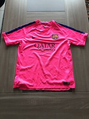 Maillot entrainement Barcelona taille XLB (16y)