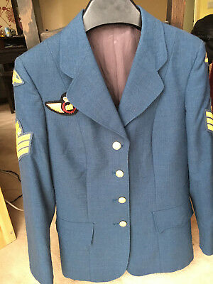 RCAF Military Uniform Womans Canadian Airforce Rare Origninal Vintage