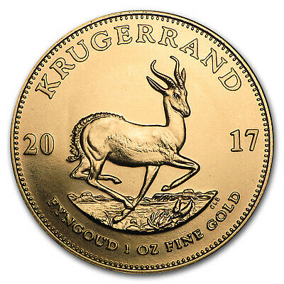 2017 South Africa 1 oz Gold Krugerrand BU - SKU #102243