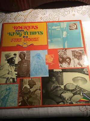 Augustus Pablo LP Rockers meets King Tubbys in a Firehouse NM
