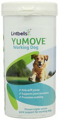 Lintbells Yumove Working Dog Tablets stiff joints Supplement  - Pack of 480