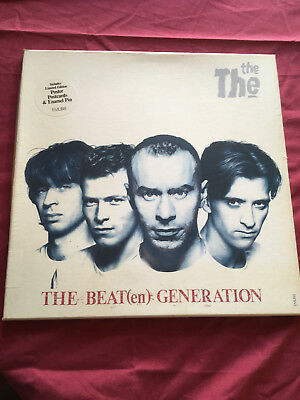 """The The - The Beat Generation Box Set 12"""" plus Poster, Cards and Enamel Pin!!"""