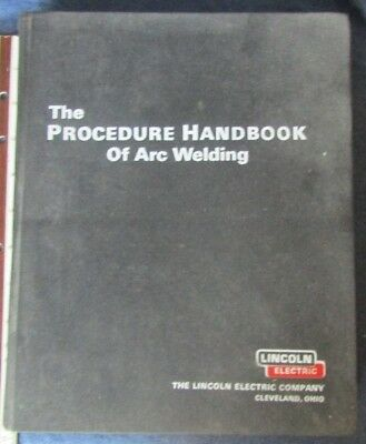Lincoln Electric Procedure Handbook of Arc Welding 12th Edition 1973 USED