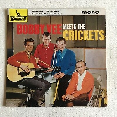 """7"""" EP BOBBY VEE meets THE CRICKETS"""