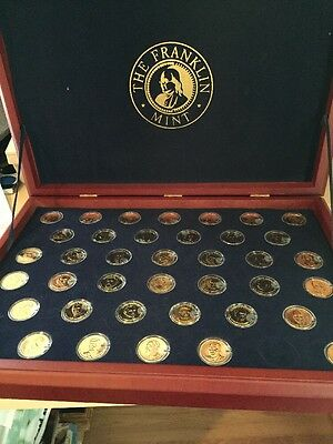U.S. Presidential Dollar Collection Issued By The Franklin Mint -MAKE OFFER