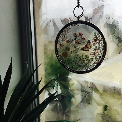 Vintage Hanging Glass Ornament