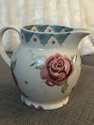 emma Bridgewater Rose And Bee 1/2 Pint Jug