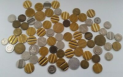 Assortment of 75 old tokens - Lot 2