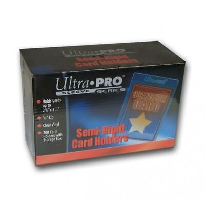 Ultra Pro Semi Rigid Card Sleeves (200/box). Shipping Included