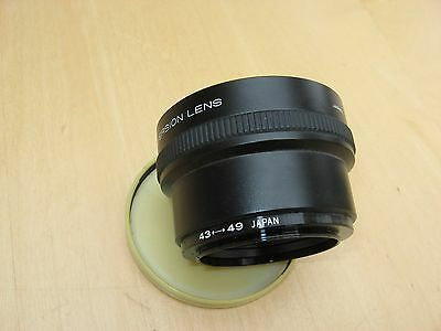 Wide Conversion Lens to fit Panasonic Video Camera