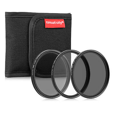 Circuit City 77MM Professional Multi-Coated Digital Filter Kit (UV, CPL, ND4)