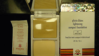 Phyto Blanc Lightening Compact Foundation De Sisley White Shell