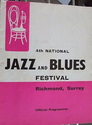 Rolling Stones - Programme 1964 - 4th National Jazz & Blues Festival - Yardbirds