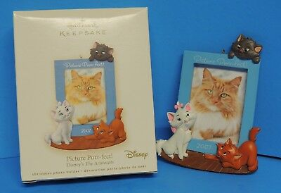 Hallmark Keepsake Picture Purr fect Disneys The Aristocats Ornament 2007