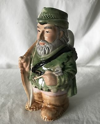 ROBIN HOOD Vintage ~14cm Tall Hand Painted Toby / Character Jug