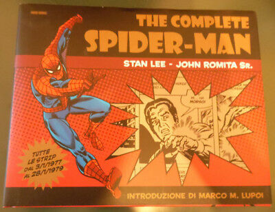 THE COMPLETE SPIDERMAN strisce 1977/79 John Romita cartonato Panini Comics