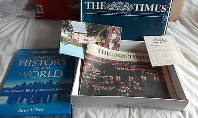 THE TIMES JANUARY 1ST 2000 collectors newspaper / book