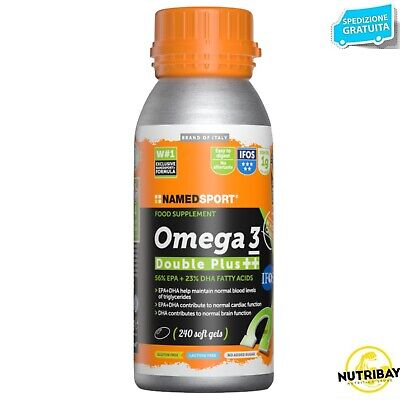 Named Sport  Omega 3 Double Plus ++ 240 Perle Certificazione Ifos 5 Stelle