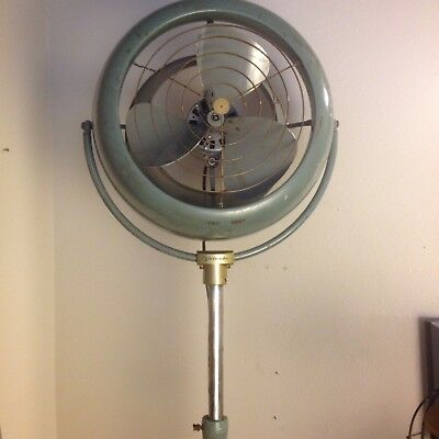 Vtg VORNADO D60P1-1 Large Pedestal  Electric Fan Air Industrial Steam Punk