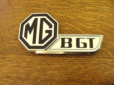 Mgb Gt Badge Made By J Fray