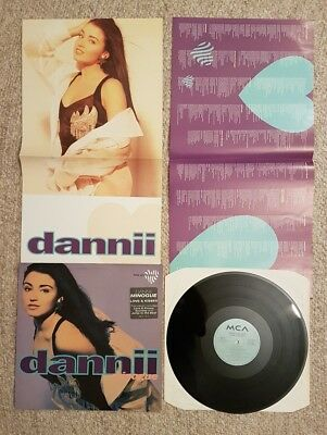 Dannii Minogue (Kylie) Love And Kisses Vinyl Record. Vg Cond. With 2 X Inners