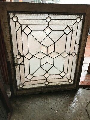 SG 1610 Antique Star Center beveled window or door panel 28 x 33