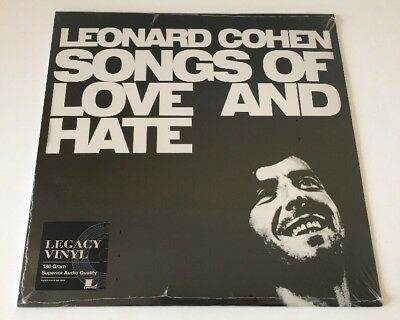 LEONARD COHEN SONGS OF LOVE AND HATE 180g VINYL LP New and Sealed